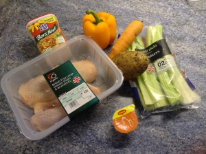 Basic ingredients. You can add other ingredients you like as leek, for example.