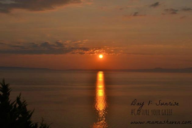 Sunrise, day 1