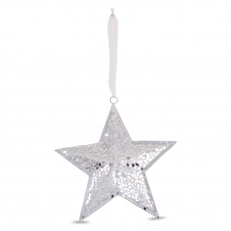 silver-mosaic-hanging-star-ornament