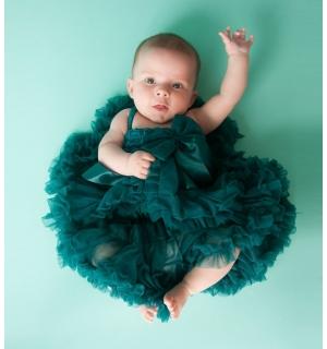 emerald-baby-tutu