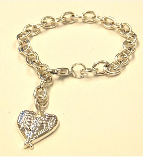 silver-charm-bracelet