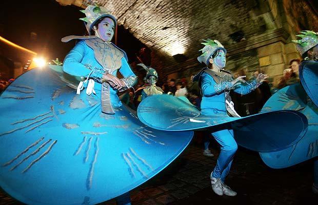 Carnival children, Derry